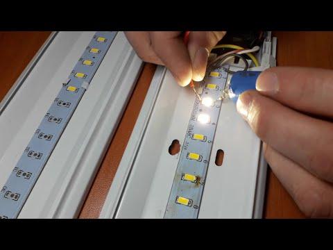 Ремонт светодиодных лент своими руками