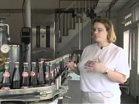 Dr Pepper Bottling Plant in Dublin, TX