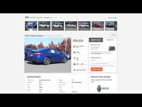 Credit Union Auto Shopping Website