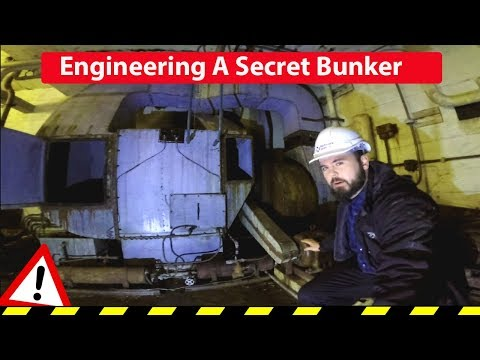 Engineering a Top Secret WW2 bunker