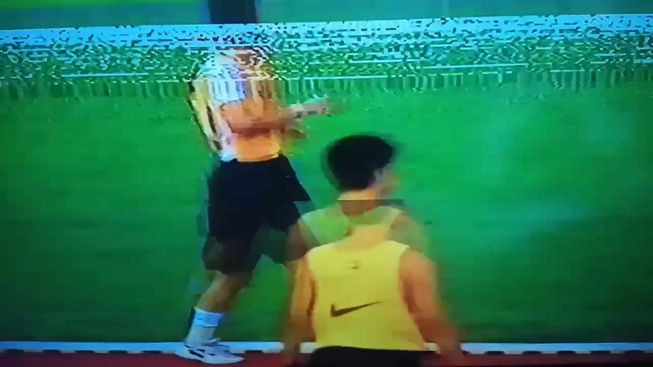 球員體能測試2 - YouTube
