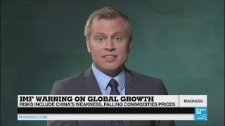 IMF warning on global growth: Risks include China