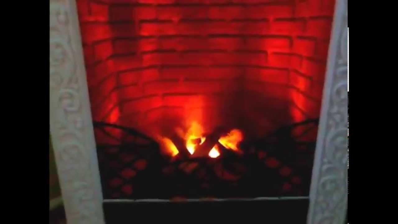 Имитация огня в камине: как сделать своими руками