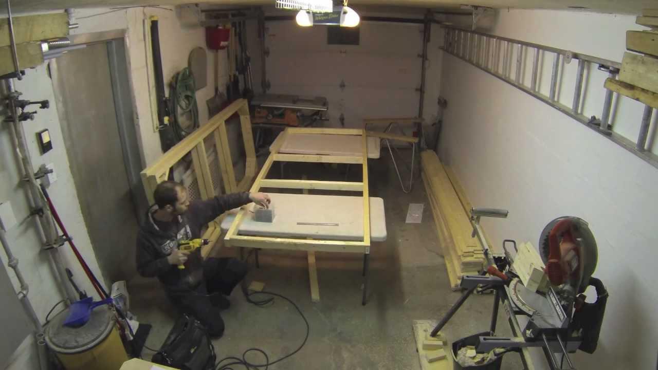 fabrication de panneaux de d cor youtube. Black Bedroom Furniture Sets. Home Design Ideas