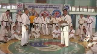 Уроки каратэ. Хадзимэ Казуми - рациональная защита от ударов руками