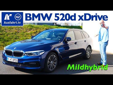 2020 BMW 520d XDrive Touring Sport Line MHEV (G31) - Kaufberatung, Test Deutsch, Review, Fahrbericht