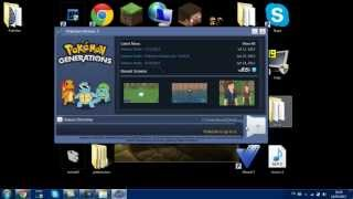 Como baixar e instalar o Pokemon Generations !