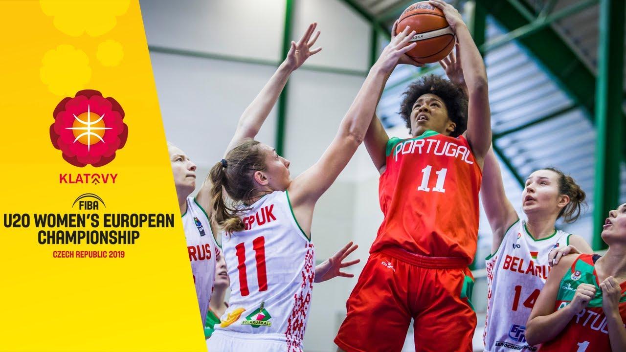 Belarus v Portugal - Full Game - FIBA U20 Women's European Championship 2019
