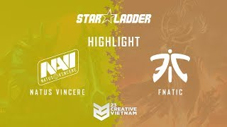 Highlight Starladder ImbaTV 2018 | Na`vi vs Fnatic - Decider Match