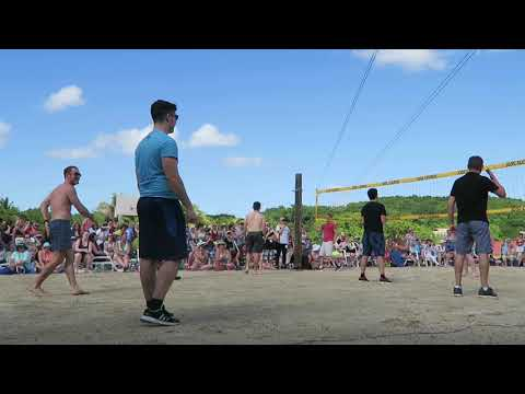 Celtic Thunder Cruise 2017 Full Game of Volleyball - CT vs GS