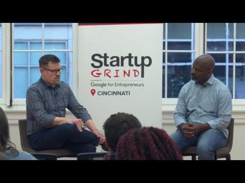 Rod Robinson (ConnXus) at Startup Grind Cincinnati
