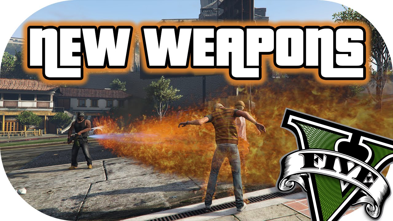 HOW TO MOD WEAPONS INTO GTAV QUICK AND EASY! |