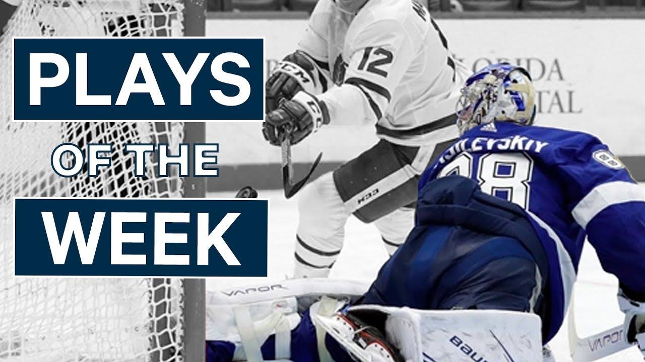 NHL Plays of The Week: Week 10 Edition - Vasilevskiy Stones The Leafs and Larkin Dangles Kings
