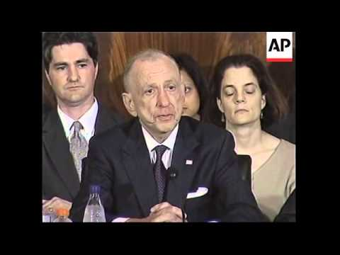 WRAP Senate hearings open on US chief justice nominee