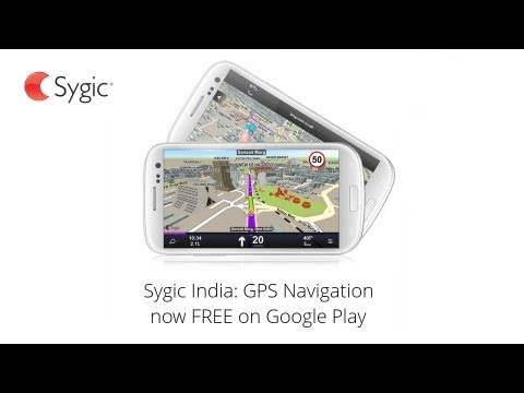 sygic india gps navigation free android app youtube. Black Bedroom Furniture Sets. Home Design Ideas