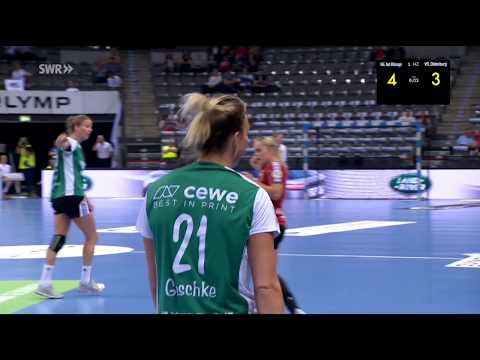 HSG Bad Wildungen Vipers vs VFL Oldenburg semifinal 1 German Cup 19052018