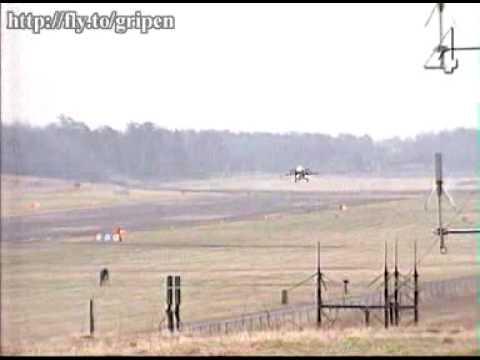 SAAB JAS 39 Gripen Crash