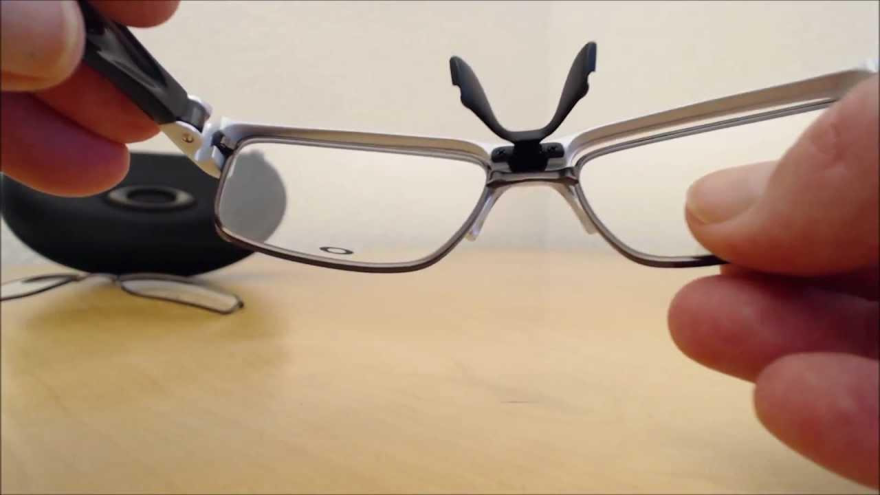 5b2d86b91 Oakley Crosslink Switch Gläser wechseln