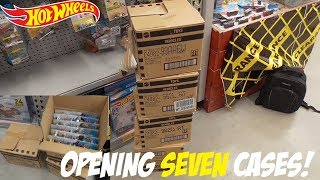 HW Hunting - Opening SEVEN Cases at The Warehouse! (ISM #6)