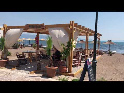 Skala Kalloni beach Lesbos