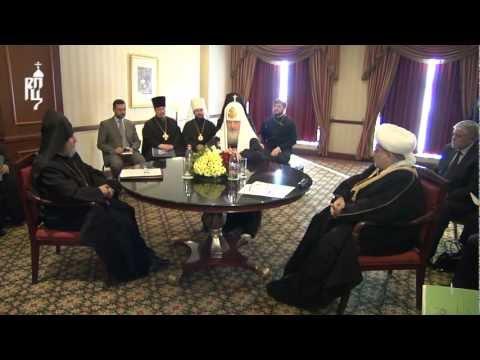 Встреча с духовными лидерами Армении и Азербайджана
