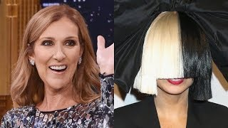 Some Celebrities impression Sia!!!!
