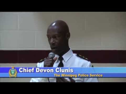 Chief Returns to Isaac Newton School