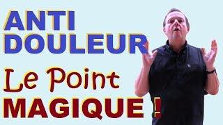 ANTI DOULEUR (PUISSANT) : Ce Point Naturel MAGIQUE Calme La Douleur En 10 Minutes