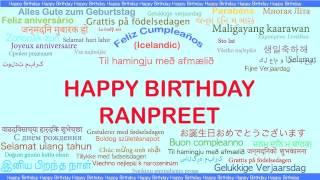 Ranpreet   Languages Idiomas - Happy Birthday