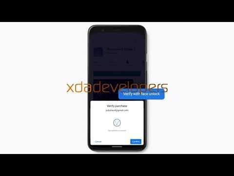 Google Pixel 4 Face Unlock for Payments