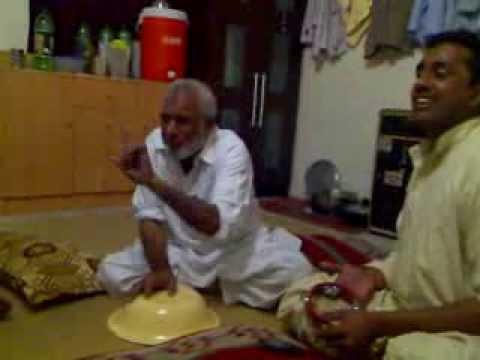 Ustad Ilyas & Waqas Attock program in Abu Dhabi in Labour Camp