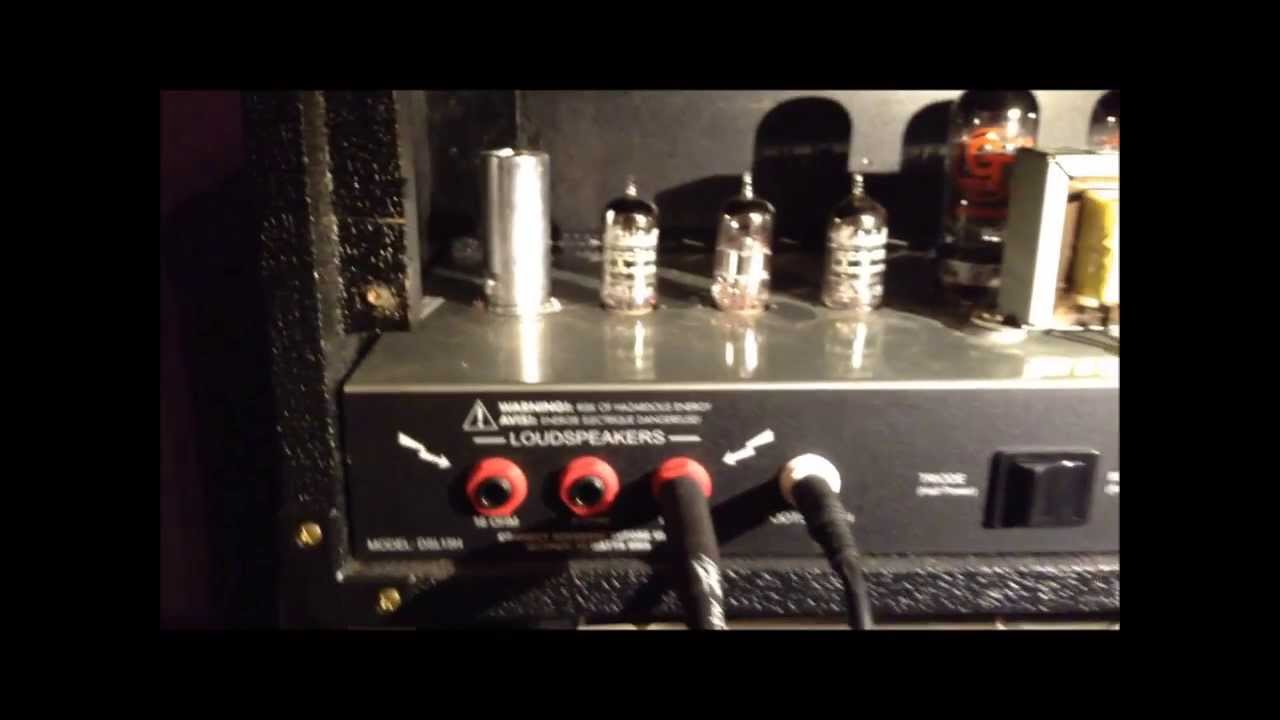 hight resolution of marshall dsl 15h tube replacement
