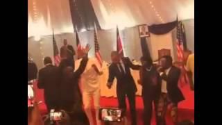 potus obama president kenyatta with sauti sol