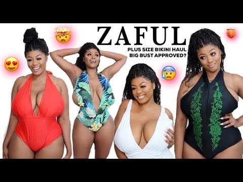 b8e1c8de059 ZAFUL PLUS SIZE BIKINI TRY ON HAUL