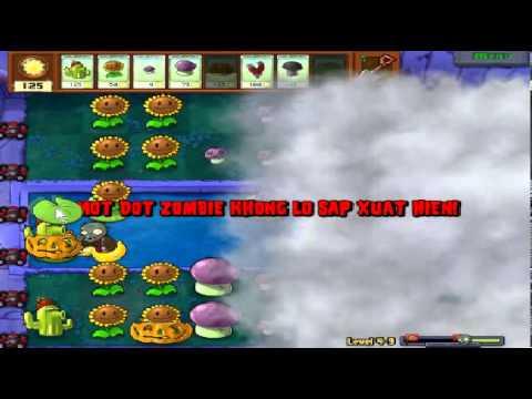 Plants vs zombies (Trồng cây bắn zombie) - Cấp độ 4-9 (Game Việt Hóa)