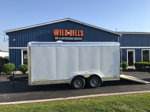 Cargo Mate 8x16 Blazer enclosed trailer $5495.00 on sale!