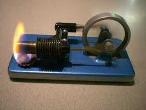 how to make stirling engine working model