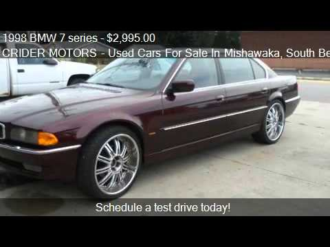 Worksheet. 1998 BMW 7 series 740iL  for sale in Mishawaka IN 46545  YouTube