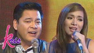 "Martin and Angeline sings ""Ikaw ang Pangarap"" on Kris TV"