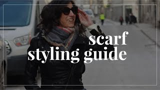 8 Easy and Stylish Ways to Tie Scarves So You Actually Wear Them | Slow Fashion