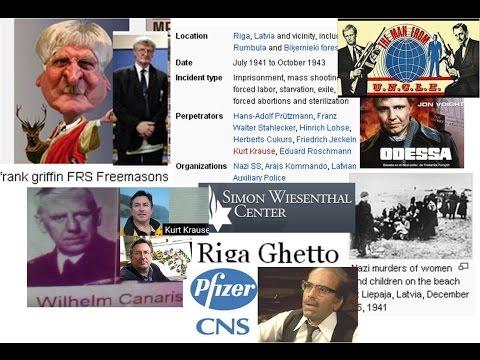 Kurt Krause & the Odessa War Criminals Canaris NOT the psychiatrist Pfizer Otago Texas Bristol