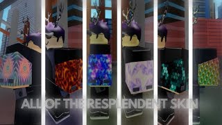 Roblox Parkour | ALL OF THE RESPLENDENT SKIN| (Hex,Tri,Sakura and More!!!)