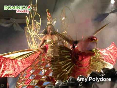 Miss Dominica Pageant 2010: Carnival Costumes
