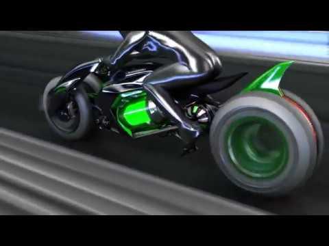 2018 new Kawasaki Concept J features promo video