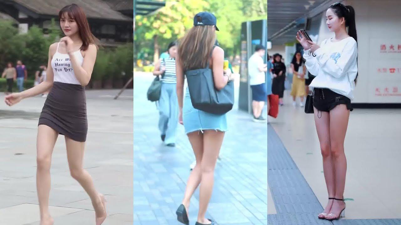 美腿抖音街拍美女|Beautyleg Girls On China Street 2020.01