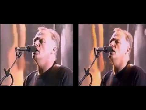Pink Floyd durante a The Division Bell Tour (Full Concert HD)