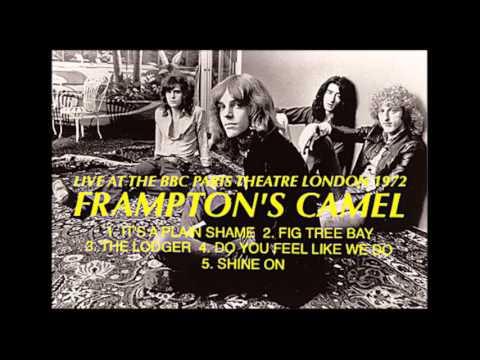 FRAMPTON'S CAMEL...LIVE AT THE BBC PARIS THEATRE LONDON  1972