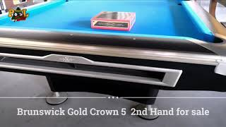 2nd Brunswick Gold Crown 5 for sale