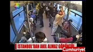 (+18) İstanbul'da korkunç Metrobüs kazası kamerada !
