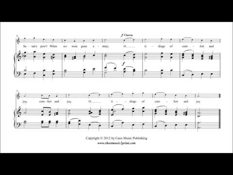 God Rest You Merry, Gentlemen - Sheet Music